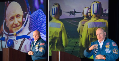 A morning with Astronaut Scott Kelly.