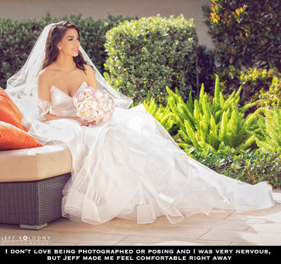 Bridal photos at The Polo Club, Boca Raton FL