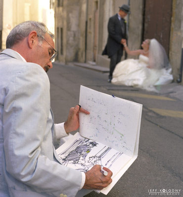 Wedding photo taken in Avignon France