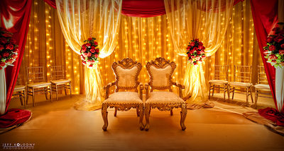 Breakers Indian Wedding Decor