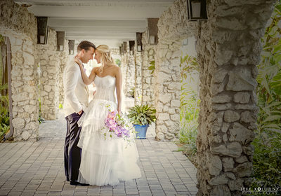 Ocean Reef Club Wedding Photo