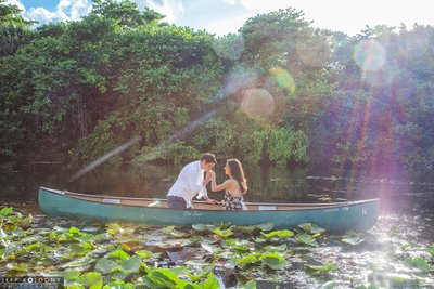 Great South Florida engagement photo locations.