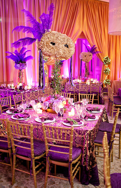 Ballroom Decor at the Fisher Island Club