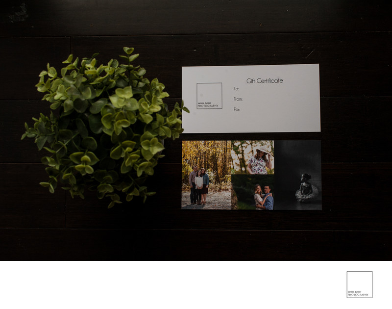 noreen turner photography gift certificates