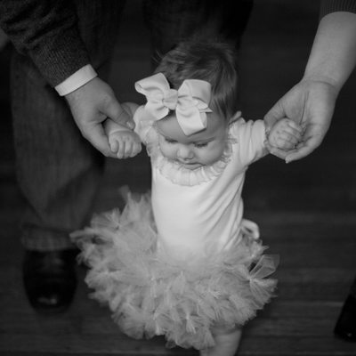 Baby Ballerina Six Month Lifestyle Photography