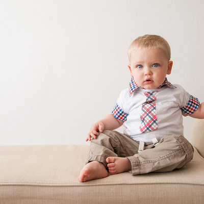 Simple First Birthday Portrait in Riverton New Jersey