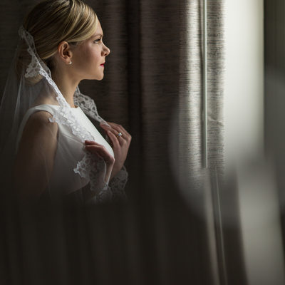Bridal Portrait at the Ritz Carlton Philadelphia