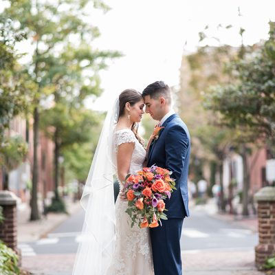 Washington Square Park Philadelphia wedding photos