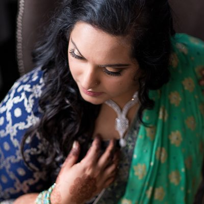 Indian Bridal Portrait Courtyard Marriott Philadelphia