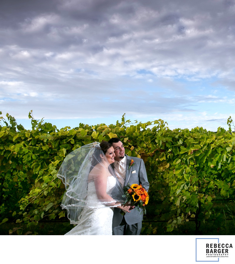 Best Wedding Photographer Winery Bucks County