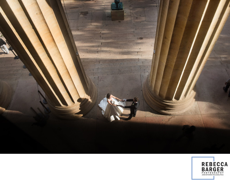 Couple marries at Philadelphia Museum of Art, Constellation