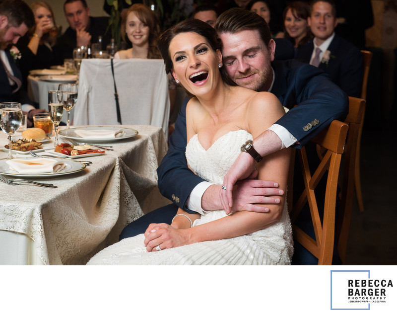 Sweet Knowlton Mansion newlywed moment.