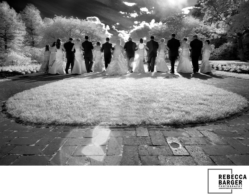 Longwood Gardens Bridal Party