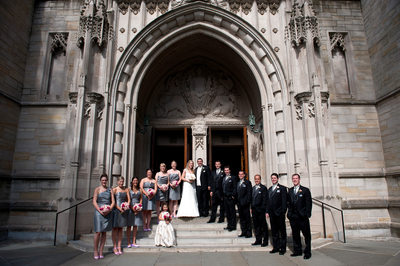 Princeton University Chapel Bridal Party
