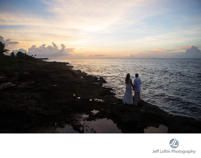 Xcaret Mexico wedding photographer