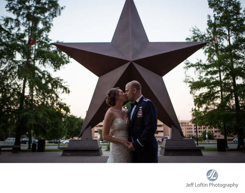 star of texas wedding pohot