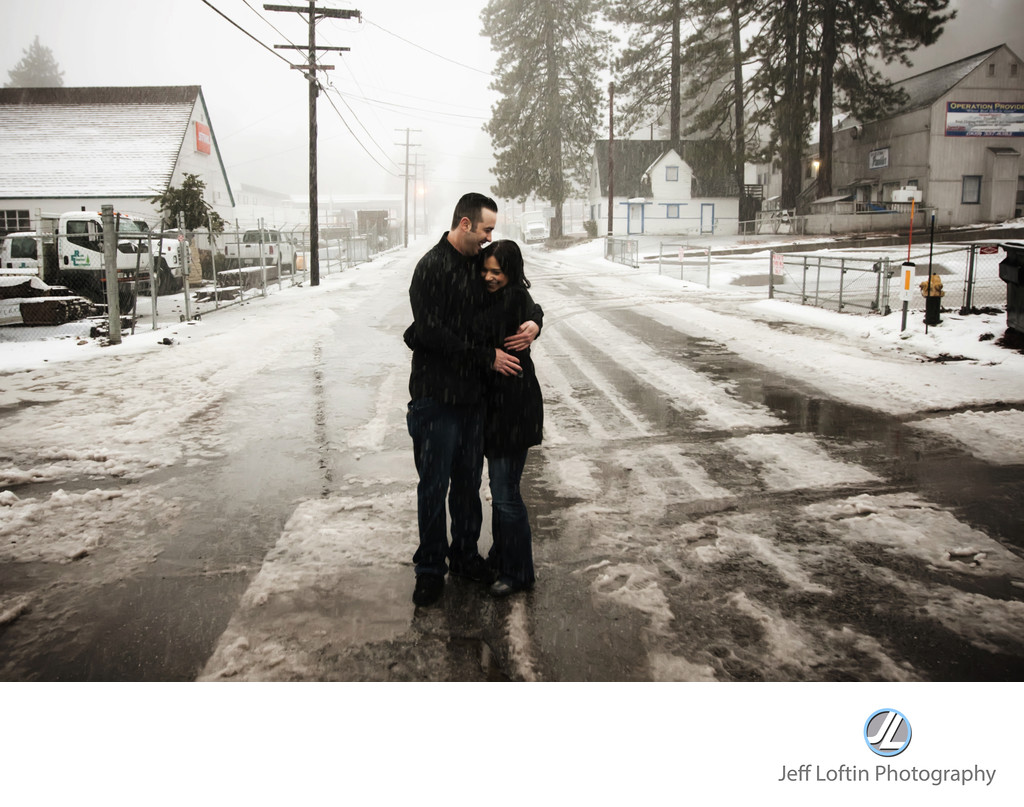 Big Bear California Engagement Photographer
