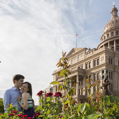 capital building engagement photo austin