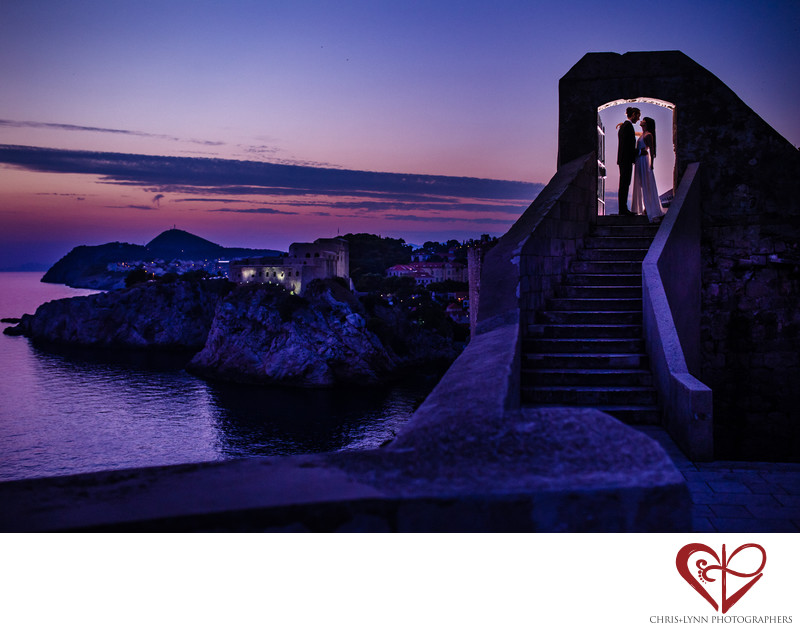 Destination Wedding Photographers in Dubrovnik