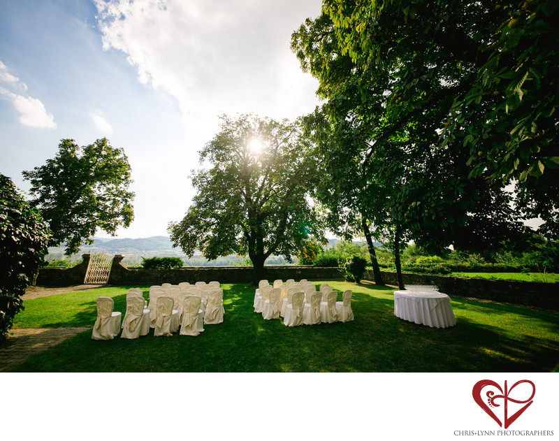 Dvorec Zemono Vineyard Wedding