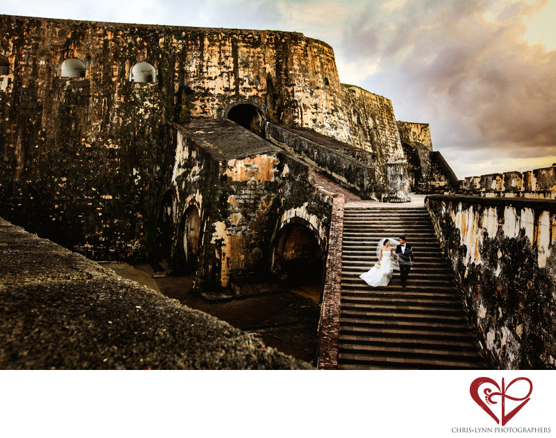 San Juan Morro Castle,  Wedding Photo