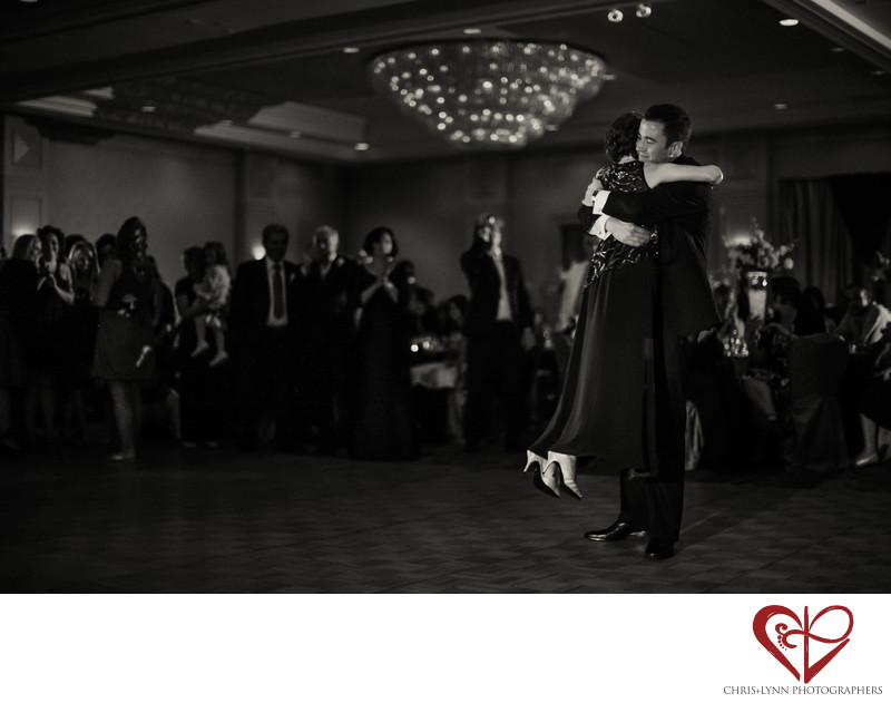 Joyous Mother & Son Dance, Vancouver Wedding reception