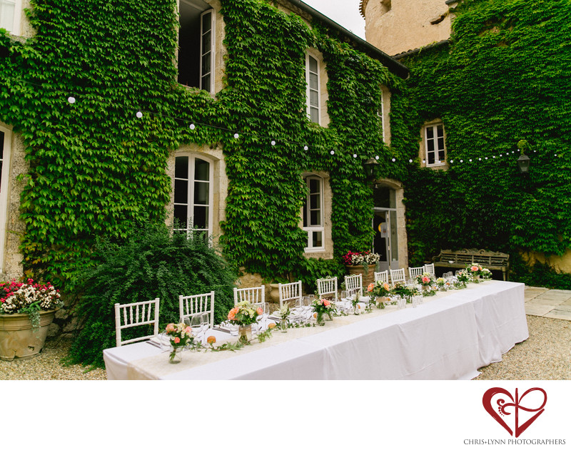 France Chateau Weddings near Agen