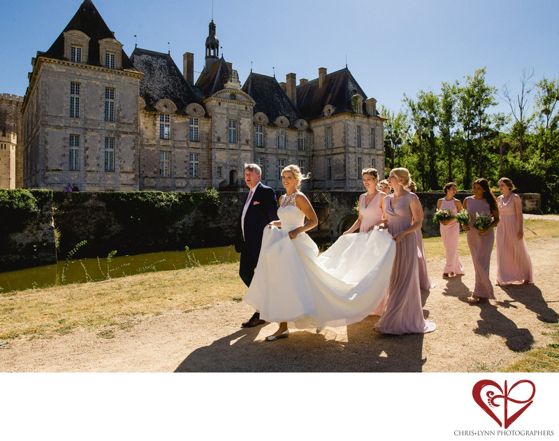 Chateau St Loup Wedding Photos, 7