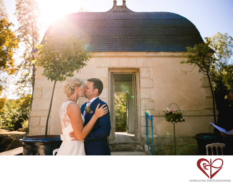 Chateau de Saint Loup Wedding Ceremony Photos 6
