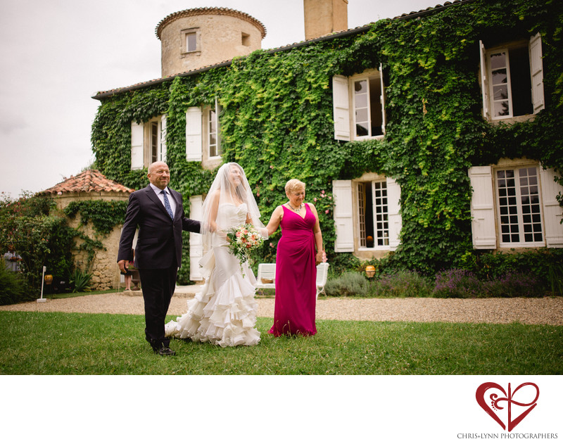 French Chateau Wedding Pictures