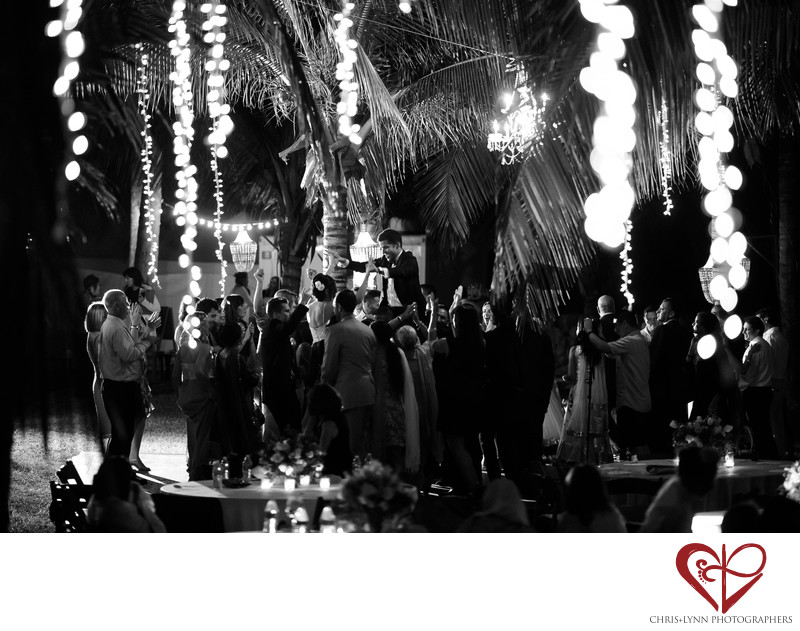 Teitiare Estates Sayulita Mexico Wedding Reception Photo