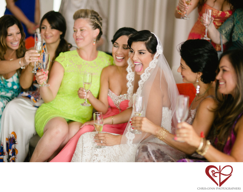 Persian Wedding at Hotel El Ganzo, Bridesmaids photos