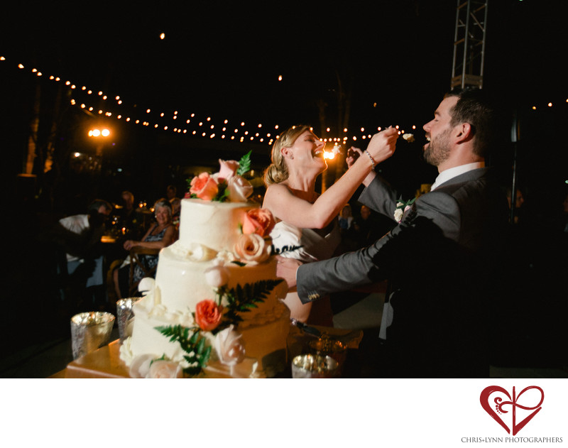 Club Campestre Wedding, Reception Photo, Cake Cutting