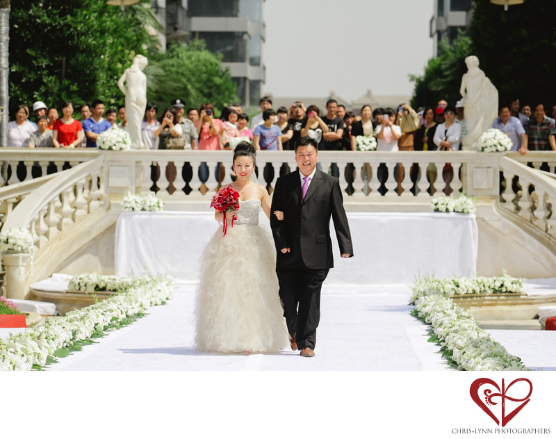 China Destination Wedding in Xian, Ceremony