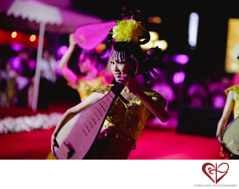 China Destination Wedding, reception entertainer picture
