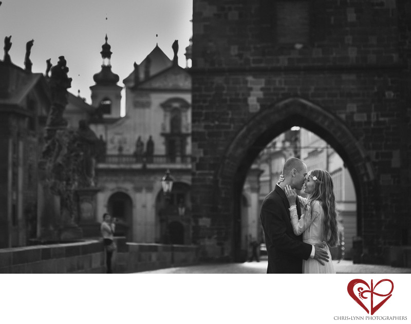 Prague Bride & Groom Wedding Photography Session