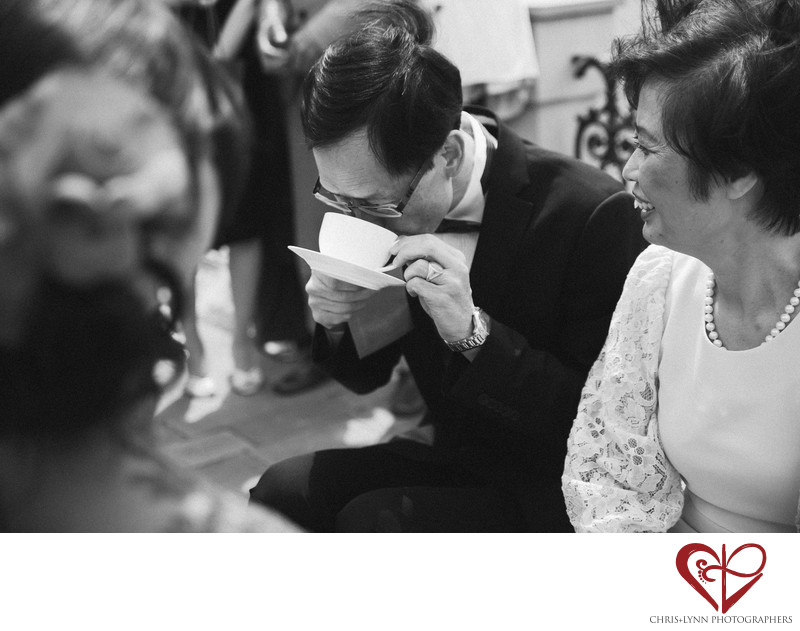 Florence Wedding Photos, Chinese Tea Ceremony 5
