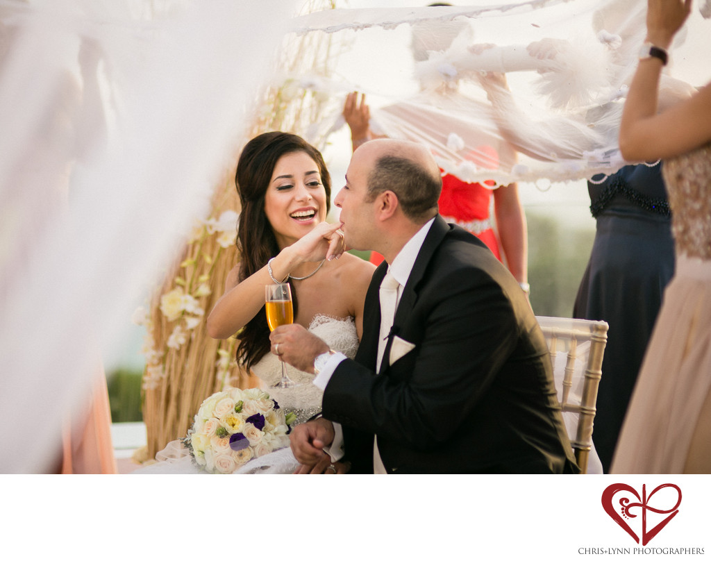 Persian Wedding Ceremony at Le Blanc Spa Resort