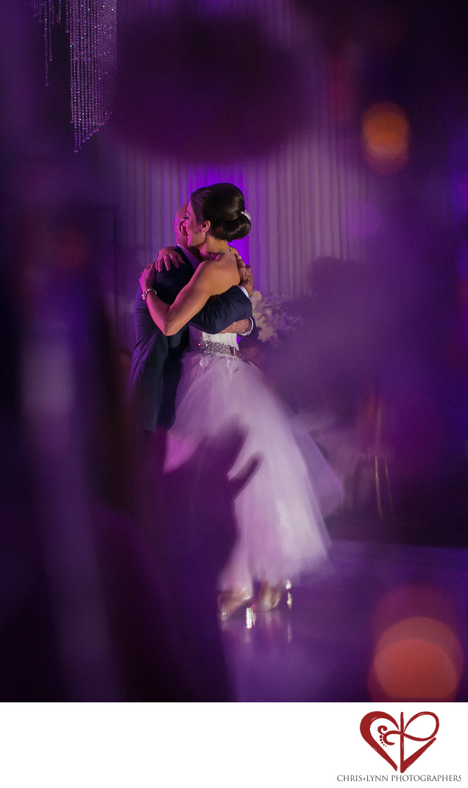 Le Blanc Resort Cancun Wedding Reception Photo