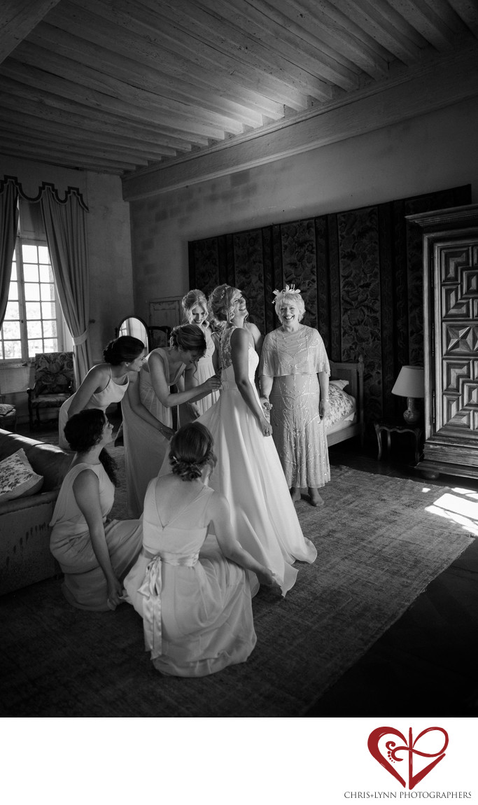 Château de Saint-Loup-sur-Thouet Wedding Pictures 8