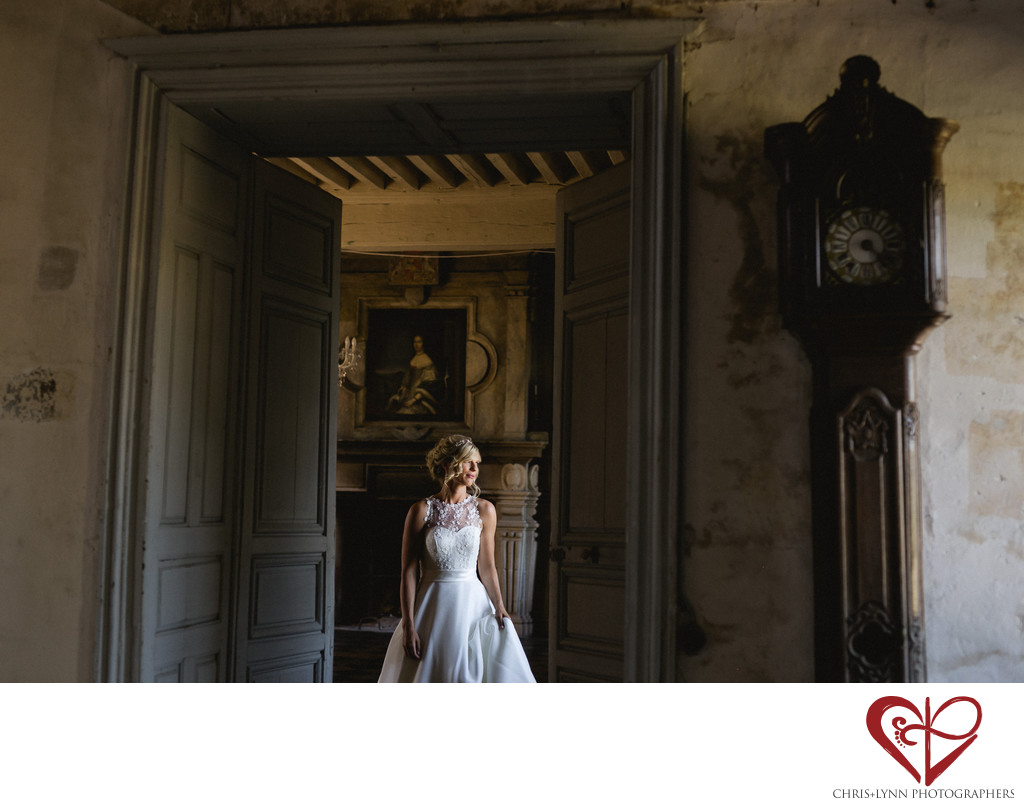 Chateau de Saint Loup Wedding Photos 6