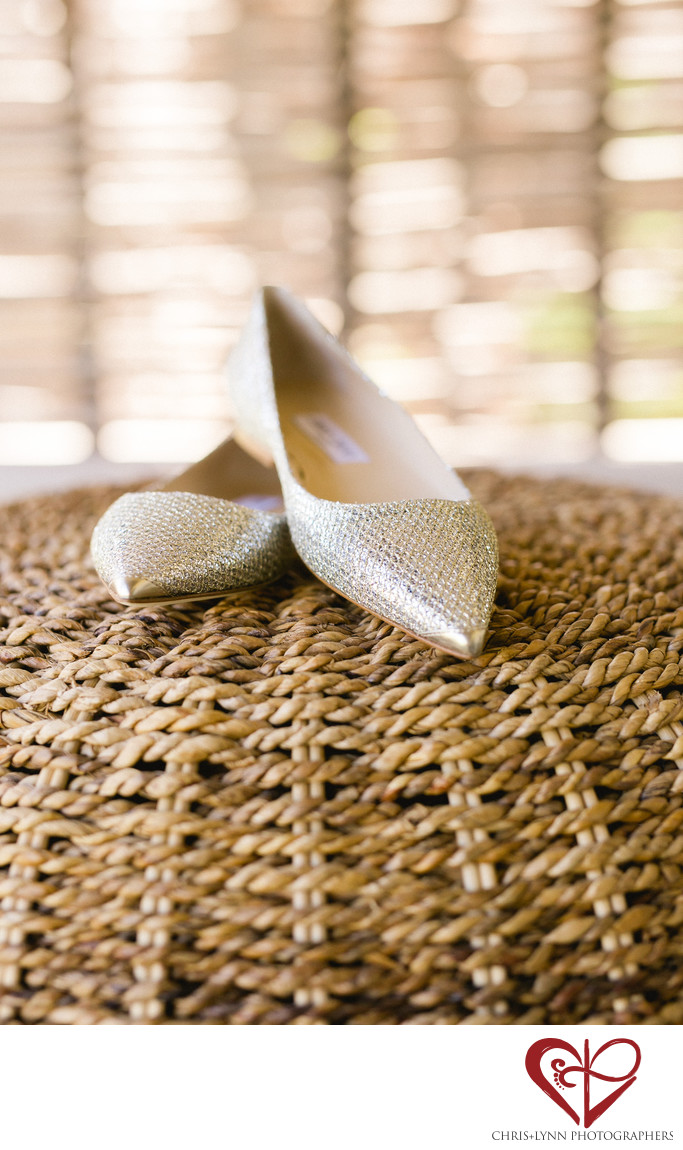 Esperanza Resort wedding shoes