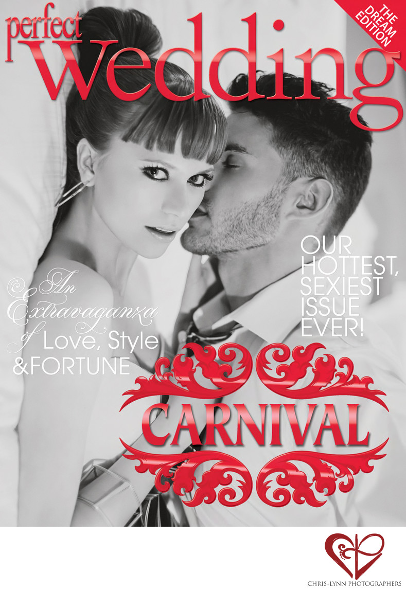 PW MAGAZINE COVER - COSTA RICA WEDDING