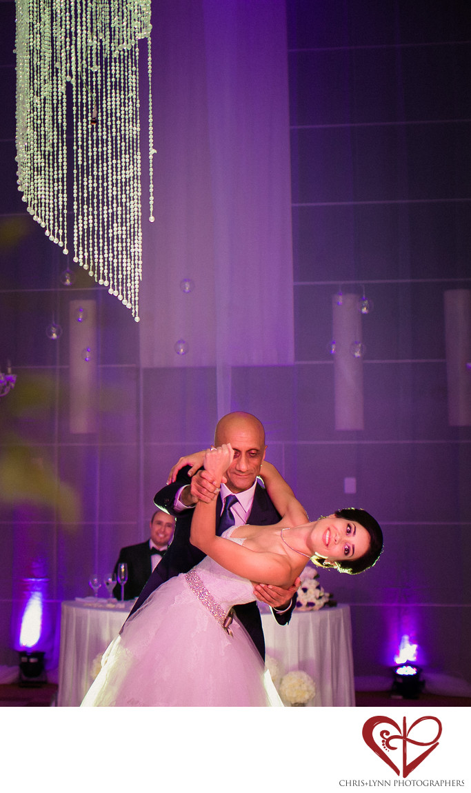 Father of the Bride Dances with Daughter,Le Blanc Hotel