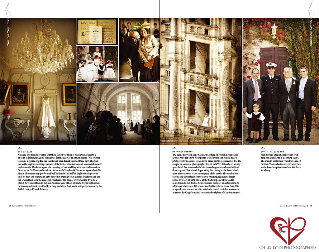 WEDLUXE - FRENCH CHATEAU WEDDING 2