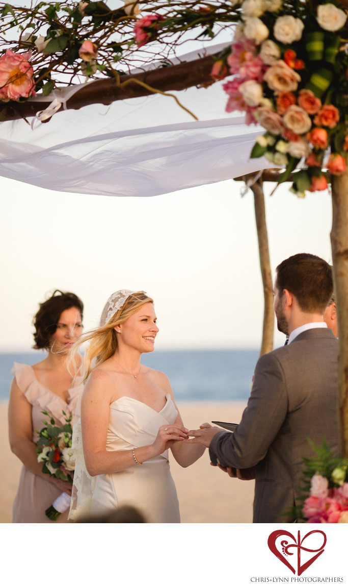 Club Campestre Beach Wedding Ceremony Pictures