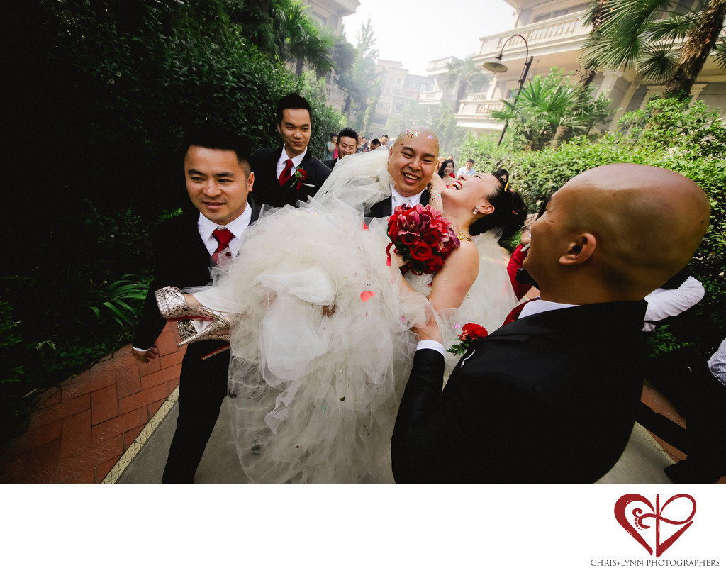 Wedding in X'ian, China