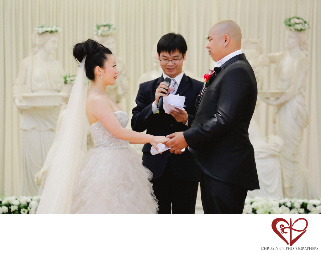 X'ian Destination Wedding Ceremony Picture