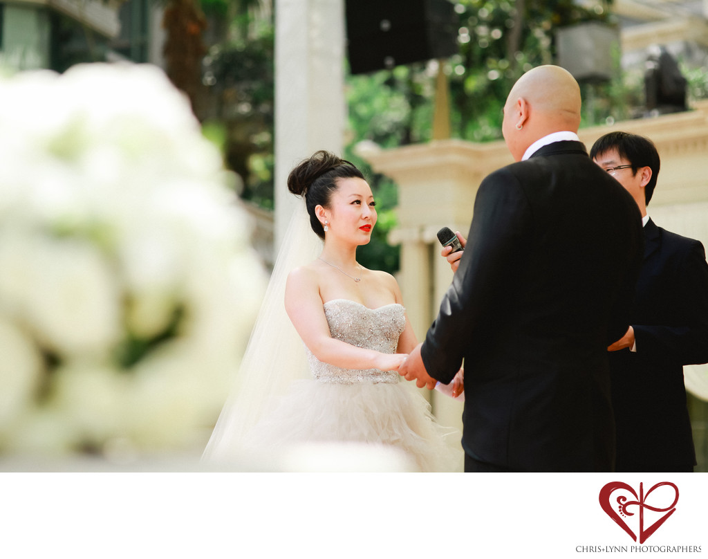 China Destination Wedding, Xian Wedding Ceremony Photo