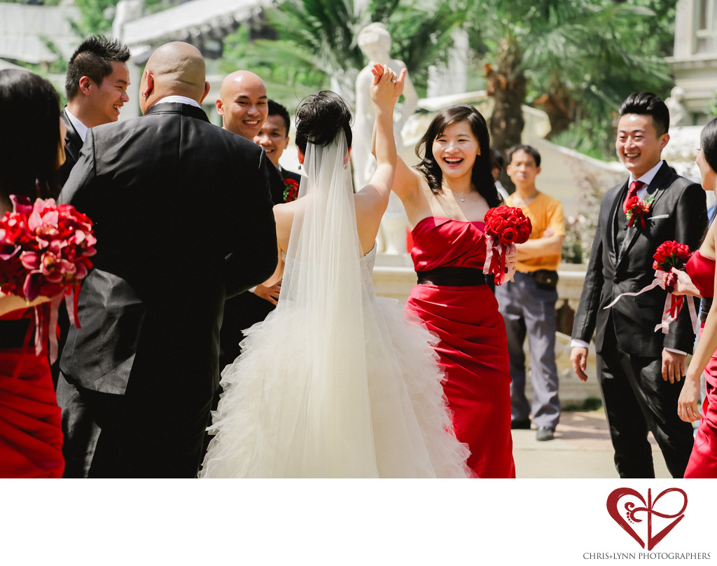 China Destination Wedding, ceremony in X'ian